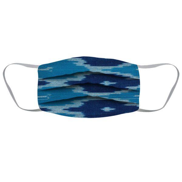 Blue Washable Handmade Cloth Mask -